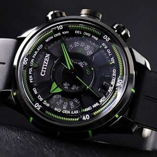 Eco-Drive Satellite Wave 全球限定990枚 with Cert.