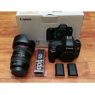 Canon 6D with 24-105mm F4 Fullbox Set