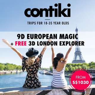9D European Magic + FREE 3D London Explorer