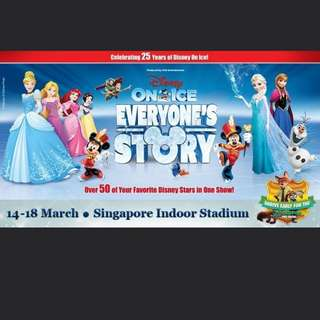Want to buy 3 x Disney on ice 18th March tics