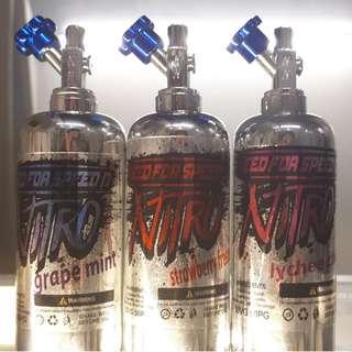 Vape Juice / Ejuice  Nitro (Strawberry Freeze/Grape Mint/Lychee Chill)