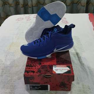 Legit Brand New With Box Nike Zoom Witness Game Royal Blue Size 11 LeBron James