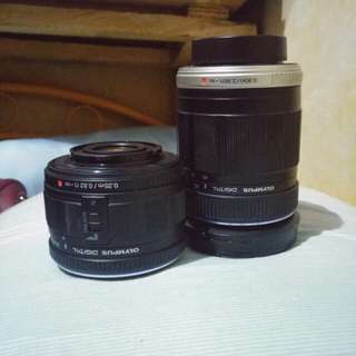 Olympus 40-150mm AND 14-42mm PRELOVED