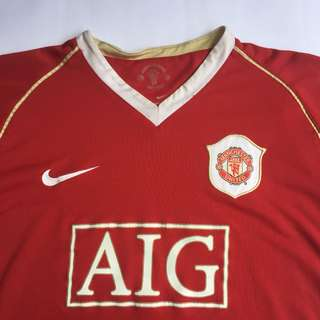 Manchaster United Home Shirt 2006-2007