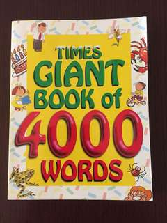 Times Giant Book of 400 Words