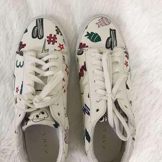 Zara Printed Shoes!!