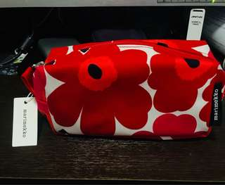Marimekko unikko化妝袋 筆袋 全新