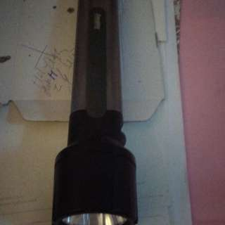 Torch Light (Powerful + 6 AA Batteries), rarely used