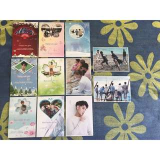 WTS EXO Postcards