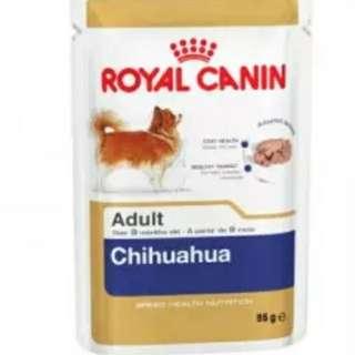 <愛狗之選>Royal Canin (法國皇家) 狗糧(濕糧) - 芝娃娃犬超級挑咀配方 85g (1@6.5,1箱12包@70,5箱@320)