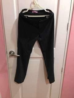 Liberte Black Stripes Pants