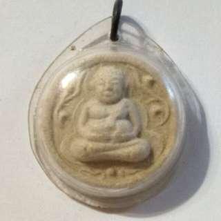 Phra Sankachai Old Thai Amulet