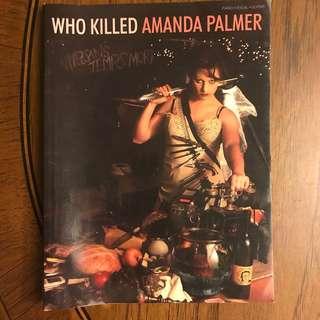 Amanda Palmer music score