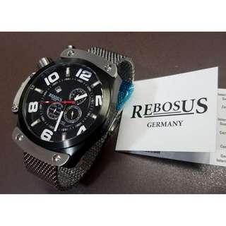 Rebosus 德國超巨型腕錶 - RS024MIL (24小時日月功能)