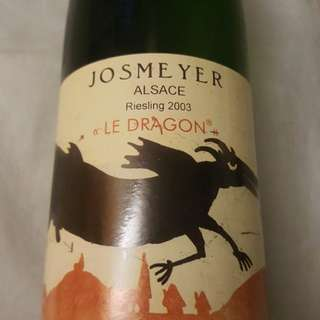 Josmeyer Le Dragon 2003(discontinued vintage)