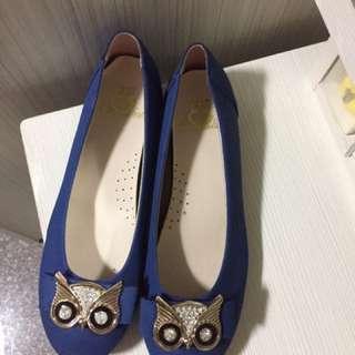 貓頭鷹 包鞋