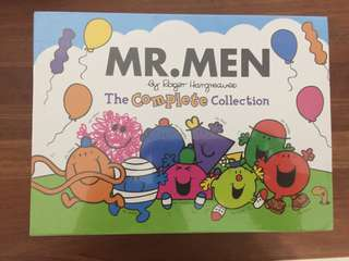 Mr Men Complete Collection of Books