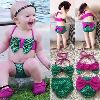 Mermaid Swimsuit set for Baby