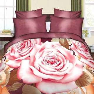 4 in 1 US Cotton Bedsheet Set