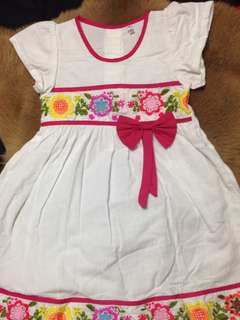 Girl Dress sundress bow