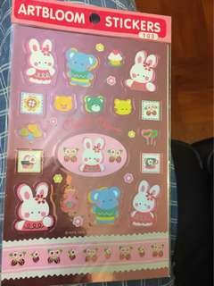 Sanrio Cheery Chums stickers