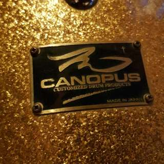 WTS Made in Japan Canopus Club Kit in silver sparkle