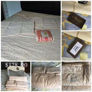 Énergie Quilt Cover & 2 Pillows Case & Spring- Maid Bed Sheet Set
