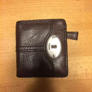 FOSSIL 皮夾 經典鑰匙系列對折短夾(口袋型) 鈔票夾/零錢袋