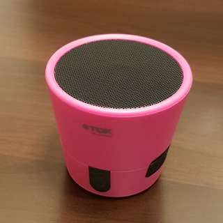 TDK Trek Mini Bluetooth Speaker - Pink