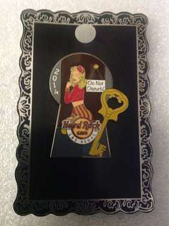 Hard Rock Cafe Pins - LAS VEGAS HOT 2014 KEY HOLE GIRL SERIES # 3!