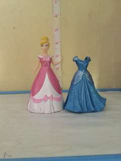 Magic Clip Cinderella with Free extra Gown