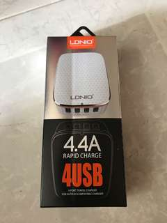 LDNIO 4.4A rapid charge 4USB