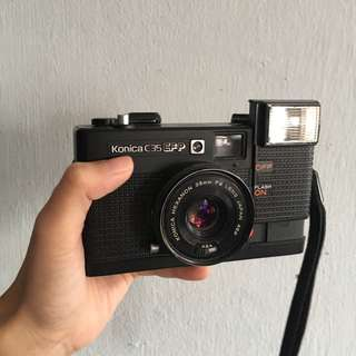 (LAST SALE) Konica C35 EF-P 35mm film camera