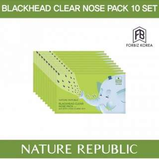 [FREE SAMPLE] Nature Republic Clear Nose Pack
