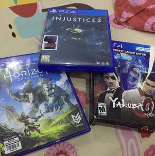 Game PS 4 ( harga per 1 kaset ) Horizon SoLD