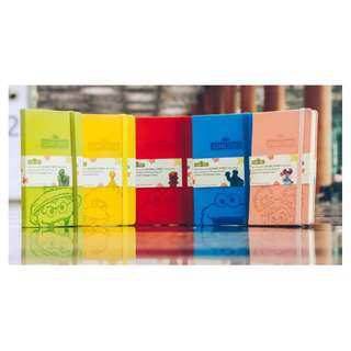 Changi Airport - A set of 5 Sesame Street notebooks (sealed)