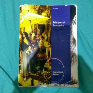 Buku Principle of Economics