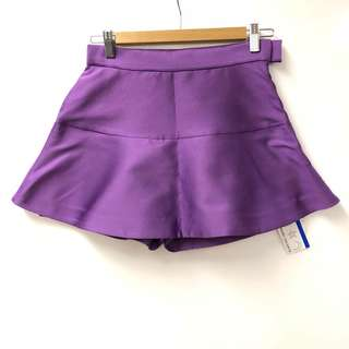 New TC purple skirt style short size 2