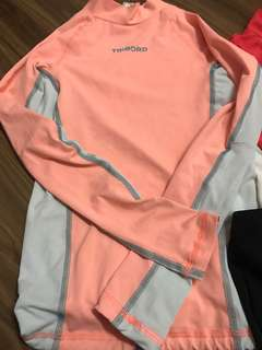 Decathlon Tribord girl rashguard