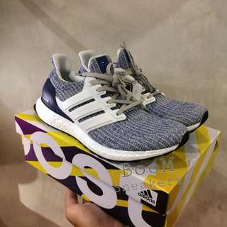 Adidas Ultraboost 4.0 White Blue UA Original BASF Boost