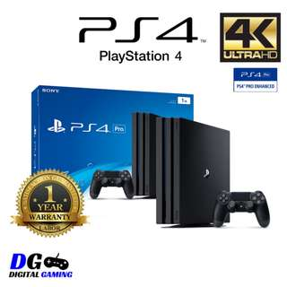 🆕PS4 Pro 1TB Console + 1 Year Local Sony Warranty