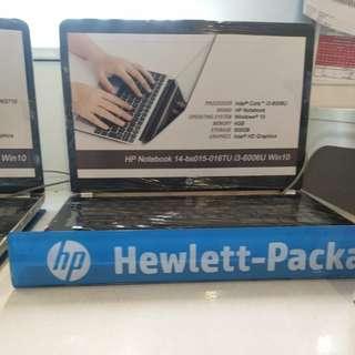 Laptop HP 14-bs015tu bisa dicicil cepat