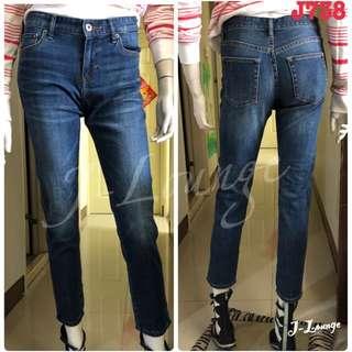 J738全新uniqulo剪標BF九分牛仔褲jeans J-Lounge