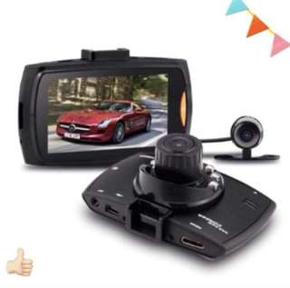 "✅ DUAL Dash camera Car HD Crash Cam G-sensor Night Vision 170Degrees 1080P 2.7"" LCD DVR  Front & Back Camera Rear Camera"