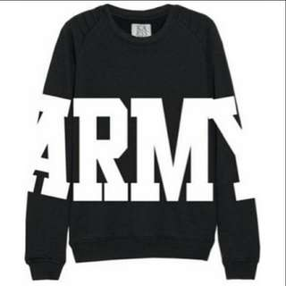 PO 7 days Army sweatshirt