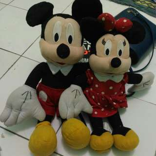Mickey and miney mouse