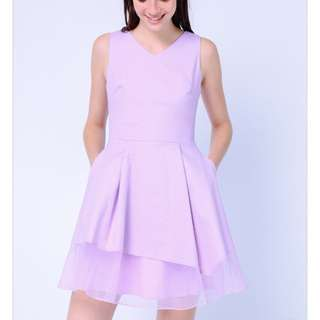 DRESSABELLE Lilac dress. L size.