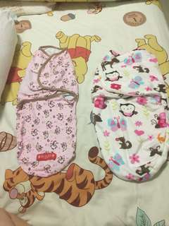 Baby swaddles (0-6months)