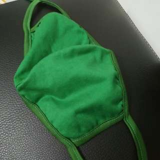 Masker hidung hijau