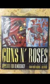 Guns and roses live at Vegas 2 CD live